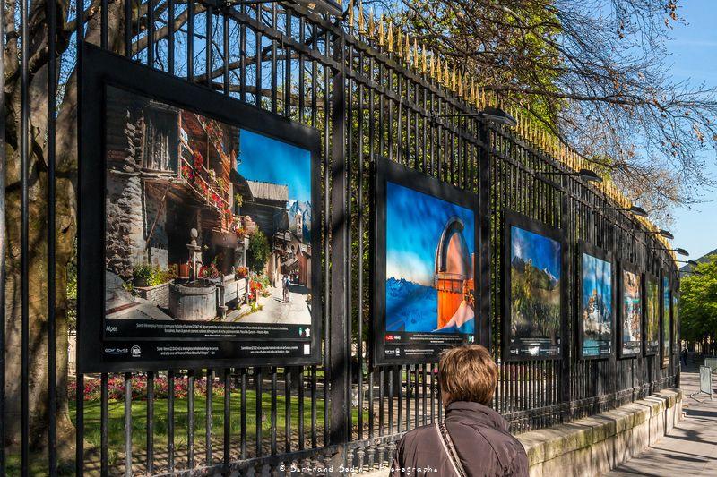 Exposition montagnes de france au s nat paris phototh que photos reportages bertrand - Jardin du luxembourg exposition ...